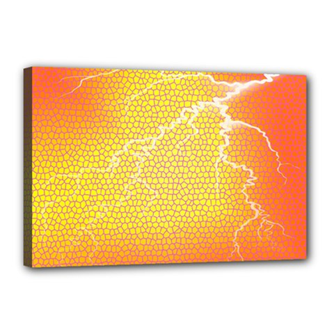 Exotic Backgrounds Canvas 18  x 12  by Simbadda