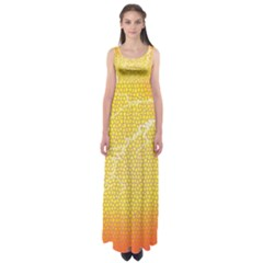 Exotic Backgrounds Empire Waist Maxi Dress by Simbadda