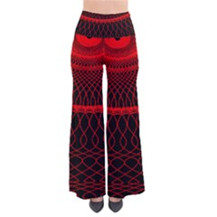 Red Spiral Featured Pants by Alisyart