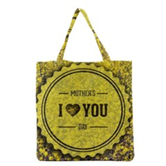 Happy Mother Day Grocery Tote Bag by Simbadda