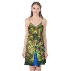 Peacock Bird Camis Nightgown