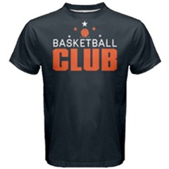 Basketball Club   Men s Cotton Tee by FunnySaying