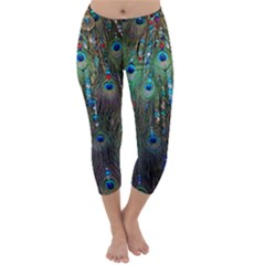Peacock Jewelery Capri Winter Leggings