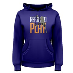 Ready To Play Basketball   Women s Pullover Hoodie by FunnySaying