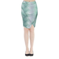 Jellyfish Ballet Wind Midi Wrap Pencil Skirt by Simbadda