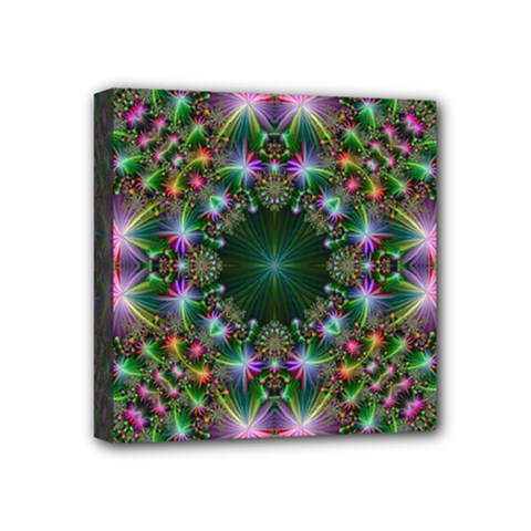 Digital Kaleidoscope Mini Canvas 4  X 4  by Simbadda