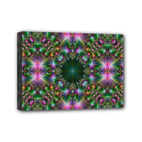 Digital Kaleidoscope Mini Canvas 7  X 5  by Simbadda