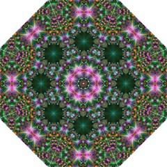 Digital Kaleidoscope Straight Umbrellas by Simbadda