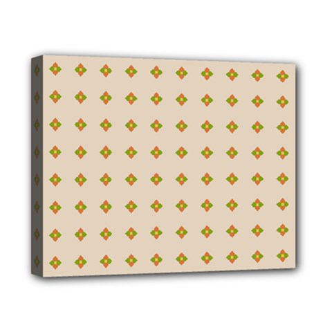 Pattern Background Retro Canvas 10  X 8  by Simbadda