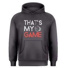 That s my game - Men s Pullover Hoodie by FunnySaying