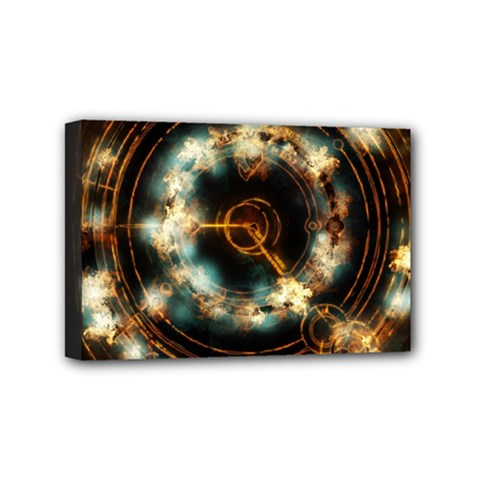 Science Fiction Energy Background Mini Canvas 6  X 4  by Simbadda