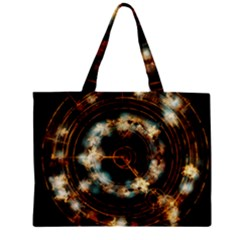 Science Fiction Energy Background Mini Tote Bag by Simbadda