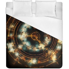 Science Fiction Energy Background Duvet Cover (california King Size) by Simbadda
