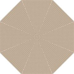 Pattern Ornament Brown Background Hook Handle Umbrellas (large) by Simbadda