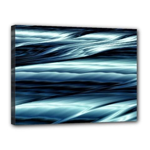 Texture Fractal Frax Hd Mathematics Canvas 16  X 12  by Simbadda