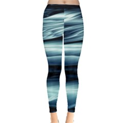 Texture Fractal Frax Hd Mathematics Leggings  by Simbadda