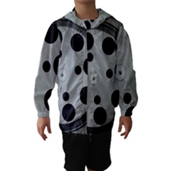 Turntable Record System Tones Hooded Wind Breaker (kids) by Simbadda