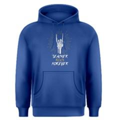 Blue teacher rock forever Men s Pullover Hoodie