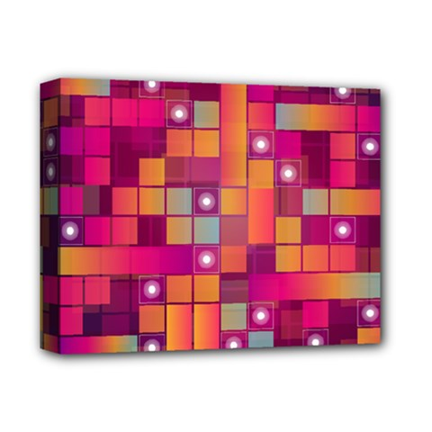 Abstract Background Colorful Deluxe Canvas 14  X 11  by Onesevenart