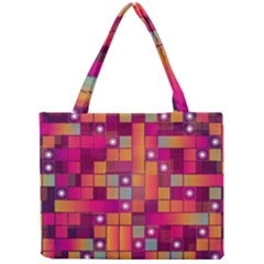 Abstract Background Colorful Mini Tote Bag by Onesevenart