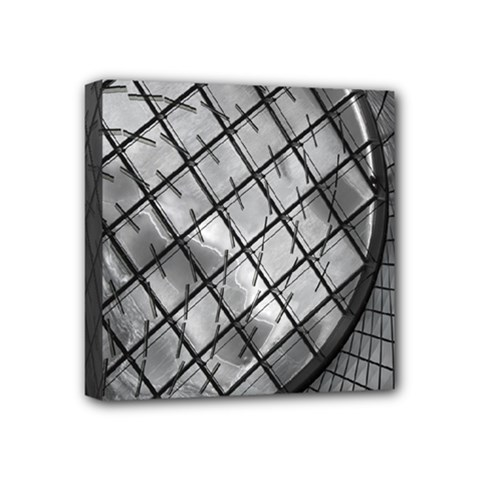 Architecture Roof Structure Modern Mini Canvas 4  X 4  by Onesevenart