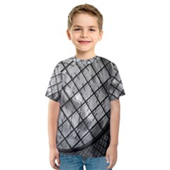 Architecture Roof Structure Modern Kids  Sport Mesh Tee by Onesevenart
