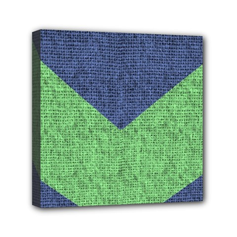 Arrow Texture Background Pattern Mini Canvas 6  X 6  by Onesevenart
