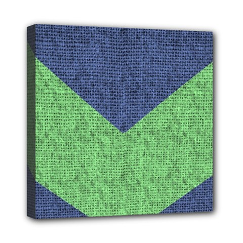 Arrow Texture Background Pattern Mini Canvas 8  X 8  by Onesevenart
