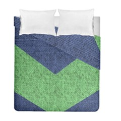 Arrow Texture Background Pattern Duvet Cover Double Side (full/ Double Size) by Onesevenart