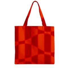 Background Texture Pattern Colorful Zipper Grocery Tote Bag by Onesevenart
