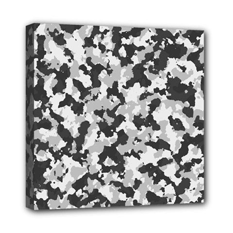Camouflage Tarn Texture Pattern Mini Canvas 8  X 8  by Onesevenart