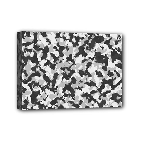 Camouflage Tarn Texture Pattern Mini Canvas 7  X 5  by Onesevenart