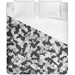 Camouflage Tarn Texture Pattern Duvet Cover (california King Size) by Onesevenart