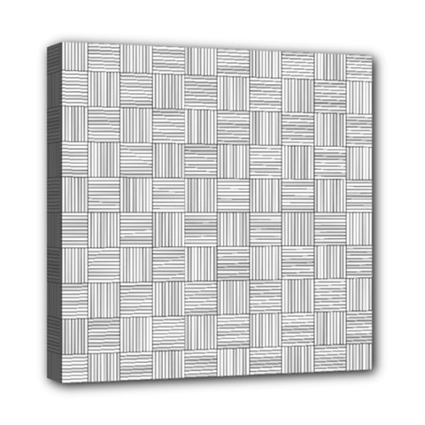 Flooring Household Pattern Mini Canvas 8  X 8  by Onesevenart
