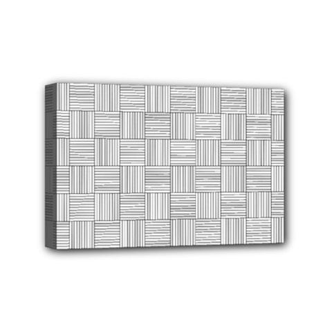 Flooring Household Pattern Mini Canvas 6  X 4  by Onesevenart