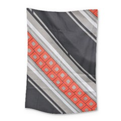 Bed Linen Microfibre Pattern Small Tapestry by Onesevenart
