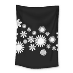 Flower Power Flowers Ornament Small Tapestry by Onesevenart