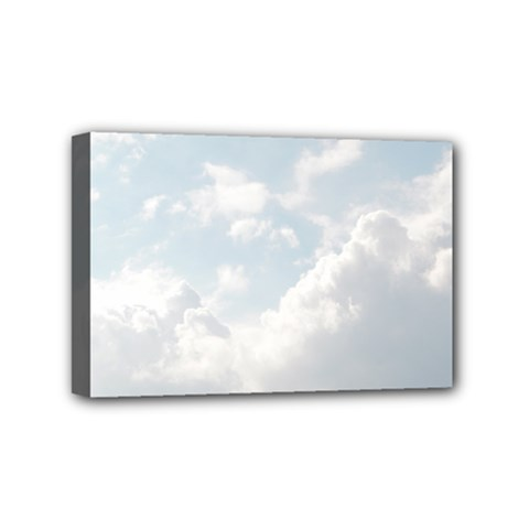Light Nature Sky Sunny Clouds Mini Canvas 6  X 4  by Onesevenart