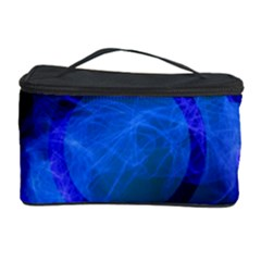 Particles Gear Circuit District Cosmetic Storage Case by Onesevenart