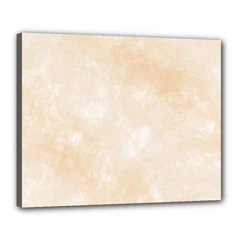 Pattern Background Beige Cream Canvas 20  X 16  by Onesevenart