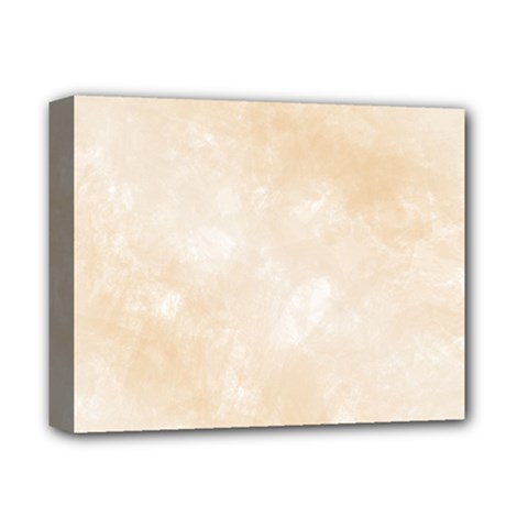 Pattern Background Beige Cream Deluxe Canvas 14  X 11  by Onesevenart