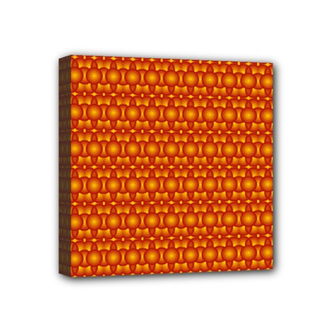 Pattern Creative Background Mini Canvas 4  X 4  by Onesevenart