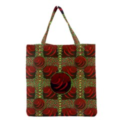 Spanish And Hot Grocery Tote Bag by pepitasart