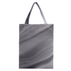 Wave Form Texture Background Classic Tote Bag by Onesevenart