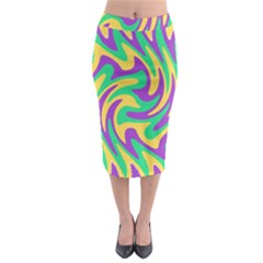 Mardi Gars Midi Pencil Skirt