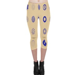 Art Prize Eight Sign Capri Leggings  by Alisyart