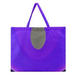 Ceiling Color Magenta Blue Lights Gray Green Purple Oculus Main Moon Light Night Wave Zipper Large Tote Bag by Alisyart