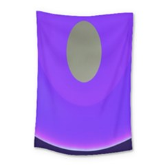Ceiling Color Magenta Blue Lights Gray Green Purple Oculus Main Moon Light Night Wave Small Tapestry by Alisyart