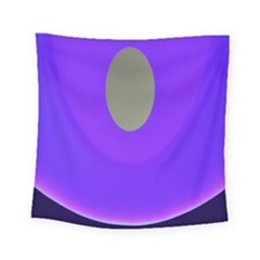 Ceiling Color Magenta Blue Lights Gray Green Purple Oculus Main Moon Light Night Wave Square Tapestry (small) by Alisyart