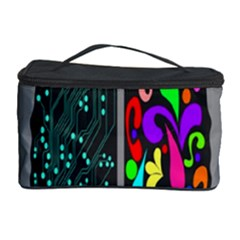 Emotional Rational Brain Cosmetic Storage Case by Alisyart